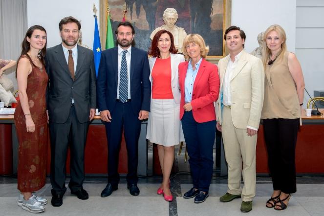 """Conferenza stampa """"Premio Internazionale Pushkin"""""""